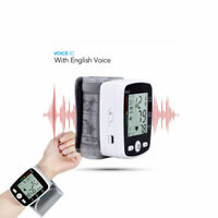 Automatic Digital Wrist Blood Pressure Monitor BP Cuff Machine Home Test Device