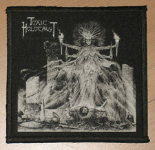 """TOXIC HOLOCAUST """"CONJURE AND COMMAND"""" silk screen PATCH"""