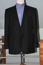 Tallia 1893 Men's Navy Blue Pinstripe Suit 2 Button Single Vent 44R Flat Front