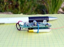 PLL UHF RF transmitter Voice AGC VOX SPY BUG baby monitor N.FM + Beacon 10g