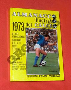 ALMANACCO ILLUSTRATO DEL CALCIO 1973 OTTIMO STATO