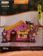 New Listing3D Halloween Structure 109pc 3D Haunted House, Shop Kids Fun Arts & Crafts Nib