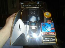 "*NEW* Star Trek the movie (2009)  ""STARFLEET COMMUNICATOR"" w/ light & sound Rare"