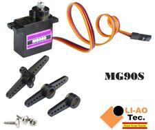 MG90S 9g Metal Gear Upgraded SG90 Digital Micro Servos for Arduino