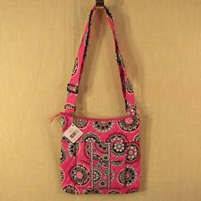 Vera Bradley - Hipster - Cupcakes Pink - Cross Body Bag / Purse Adjustable Strap