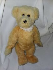 Plush Mohair Hump back Bear by Mary D. Olsen OOAK Fully Jointed