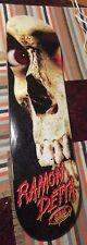 Evil Dead 2 Poster Art Ramon Detta Skateboard Pre-owned