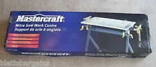 """MASTERCRAFT MITER SAW STAND WORK CENTER 109"""" WINGS 55-6858-4 MITRE CHOP TABLE"""