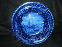 ANTIQUE THE BEACH AT BRIGHTON HISTORICAL STAFFORDSHIRE SOUP PLATE BY WOOD & SON