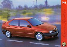 Alfa Romeo 146 1996-97 UK Market Leaflet Sales Brochure 1.6 1.6L 2.0 Ti