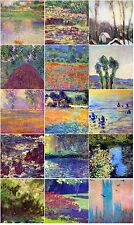 15 Tiles Art Monet Mosaic Ceramic Mural Backsplash Bath Decor Tile #319