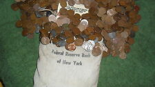two rolls of wheat penny's! 1909 To 1958! A Nice Mix Of Teens to 50's