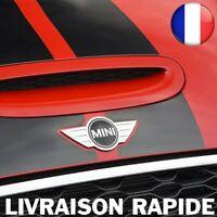 Logo Mini Cooper Métal 115 x 50mm Voiture Grille Capot Emblème Arrière Qualité