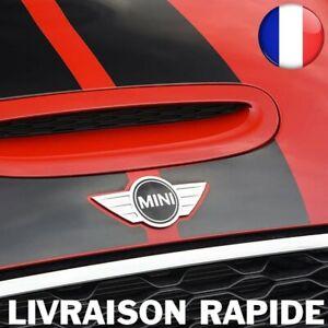 Logo Mini Cooper Métal 115 x 50mm Voiture Grille Capot Emblème Arrière Auto Top