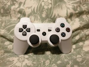 Official Genuine Original Sony Dual Shock 3 Play Station 3 Controller White