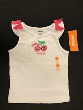 NWT Gymboree Girls Cherry Cute Cherry Sweet Bow Tank Size 2T