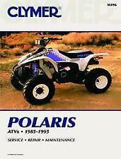 New CLYMER MANUAL POLARIS All 3 4 6 Wheel Models 85-95 REPAIR Maintenance ATV