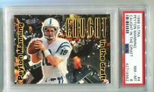1998 Fleer Ultra Peyton Manning Caught in the Draft RC #4 PSA 8 NM-MT Colts
