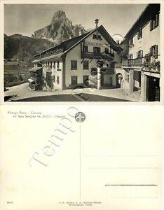 Cartolina di Corvara in Badia, albergo - Bolzano