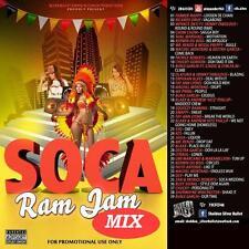 SOCA RAM JAM  MIX CD VOL 1