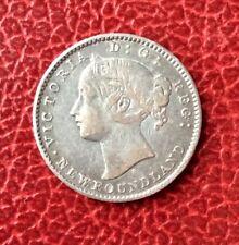 CANADA - Newfoundland - Terre-Neuve - Jolie monnaie de 10 Cents 1872 H