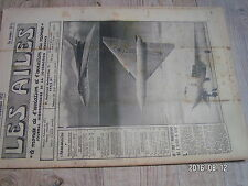 "1µ?  Revue Les Ailes ""Monde Aviation"" n°1390 Avro A-698 Caproni F-5 Soufflerie"