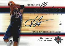 2005-06  Ultimate Collection All-Stars Signature Vince Carter #4/6 AUTOGRAPH SSP