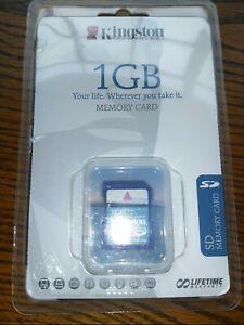 Kingston 1 GB NIB memory card