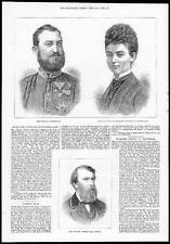 1879 Duke & Duchess of Cumberland portraits Princess Thyra du Danemark (090)