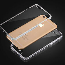 Galaxy A3 2016 DOPPEL SILIKON Handy Hülle Schutz Tasche Transparent Case Cover