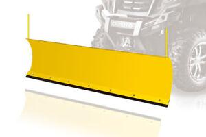 Quad ATV Schneeschild Räumschild Schneeschieber +Anbaukit+Montageplatte+Rahmen