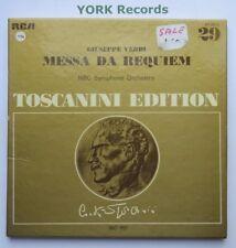 AT 201 - VERDI - Messa Da Requiem TOSCANINI NBC SO - Ex 2 LP Record Box Set