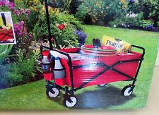 New Seina 6 Cu Ft Poly Yard Cart Steel Wagon Garden Utility Gorilla Wheelbarrow