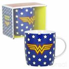 New DC Comics Wonder Woman Logo & Stars Mug Coffee Retro Justice League Official