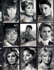 James Bond in Motion BG49-BG72 Bond Girls card set