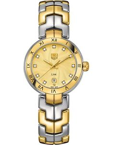 WAT1451.BB0955 | BRAND NEW TAG HEUER LINK 18K GOLD 7 STEEL WOMEN'S DRESS WATCH