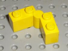 Lego Yellow Hinge ref 3830 & 3831 / set 375 744 1822 4561 4560 6394 374 6075 232