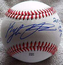 Houston Astros Kyle Tucker 2015 1st Round Pick Auto Midwest League Baseball