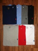 POLO RALPH LAUREN MEN'S POCKET CREW NECK T-SHIRTS NEW WITH TAG