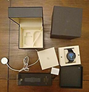 Huawei Watch 42mm Black Stainless Steel Case Black Link Bracelet - (55020539)
