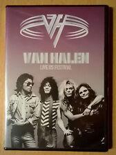 VAN HALEN Live US Festival (DVD neuf scellé/sealed)