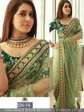 Bollywood Party Wear Saree Designer Wedding Bridal Saree Indian Pakistani Sari