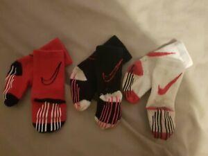3 x Nike socks - baby - upto 12 months