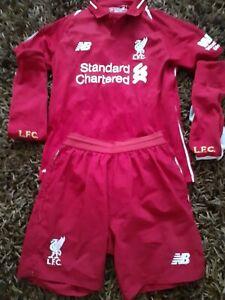 Liverpool 2018 Firmino 9 Kit  Size L Boys