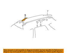 MERCEDES OEM 98-03 ML320 Roof Rack Rail Luggage Carrier-Cover Left 1638490103