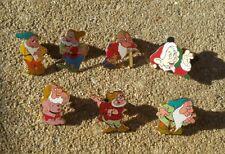 Walt Disney Pin collection Snow White & 7 Dwarfs Lot of 7 pins Rare