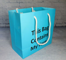 'This Bag Contains My Face' Medium Gift Paper Bag - Everyday Beauty Lab New York