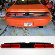 VLAND Smoked Tail Light Lamp For 2008-2014 Dodge Challenger Sequential Indicator