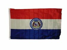 Missouri State Flag Size 3 X 5 Feet 2 Gromets Polyester New