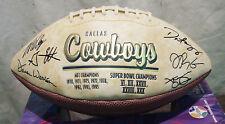 NFL DALLAS COWBOY 2004 TEAM SIGNED 12 AUTOGRAPHS FOOTBALL ALLEN, NGUYEN, JOHNSON